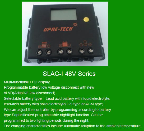 UPNE-TECH Solar Charge Controller